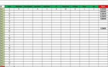 Relevé de Notes par élève avec calcul de moyenne et classement